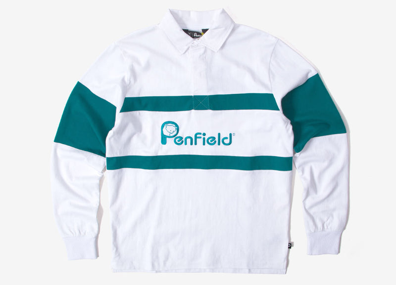 Penfield Cass Rugby Shirt - White
