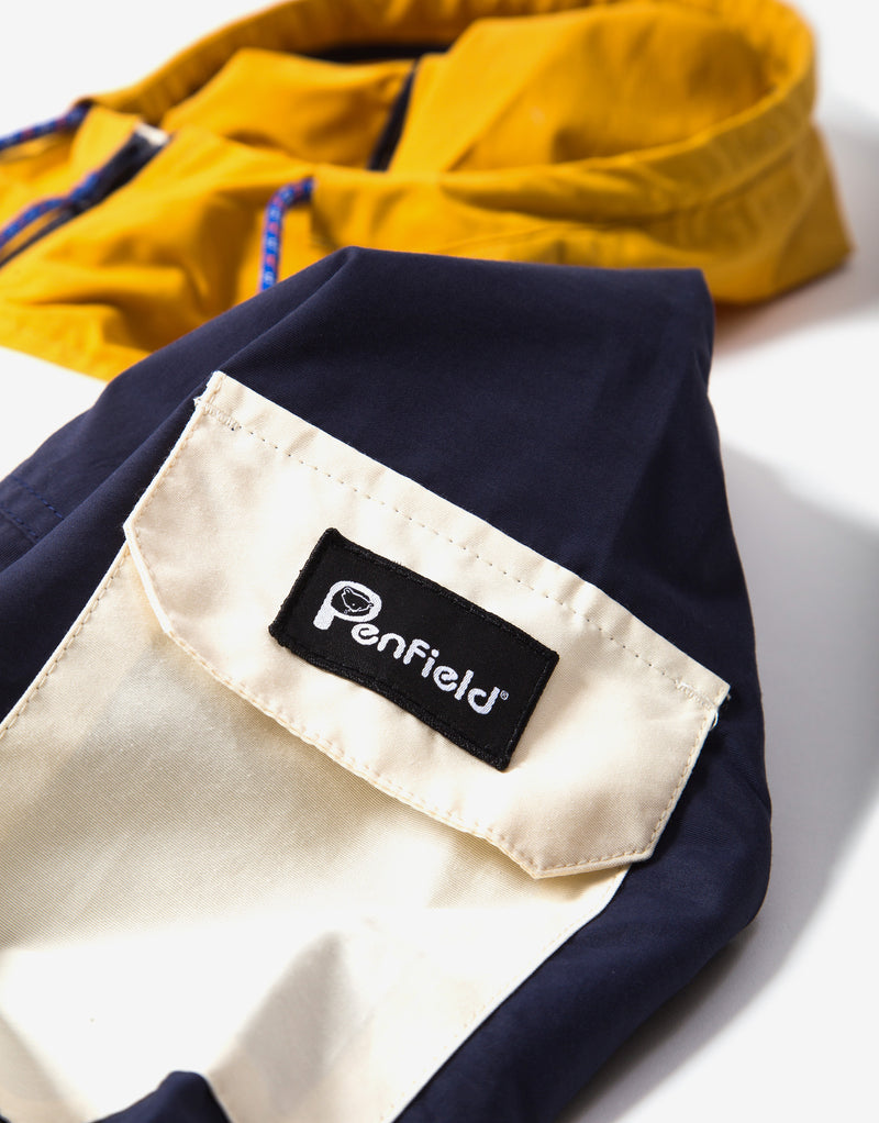 Penfield Halcott Colourblock Jacket - Mineral Yellow
