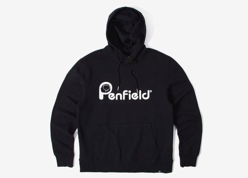 Penfield Hanson Hoody - Black