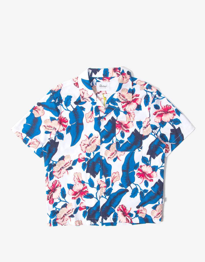 Penfield Hunter Vacation Shirt - White