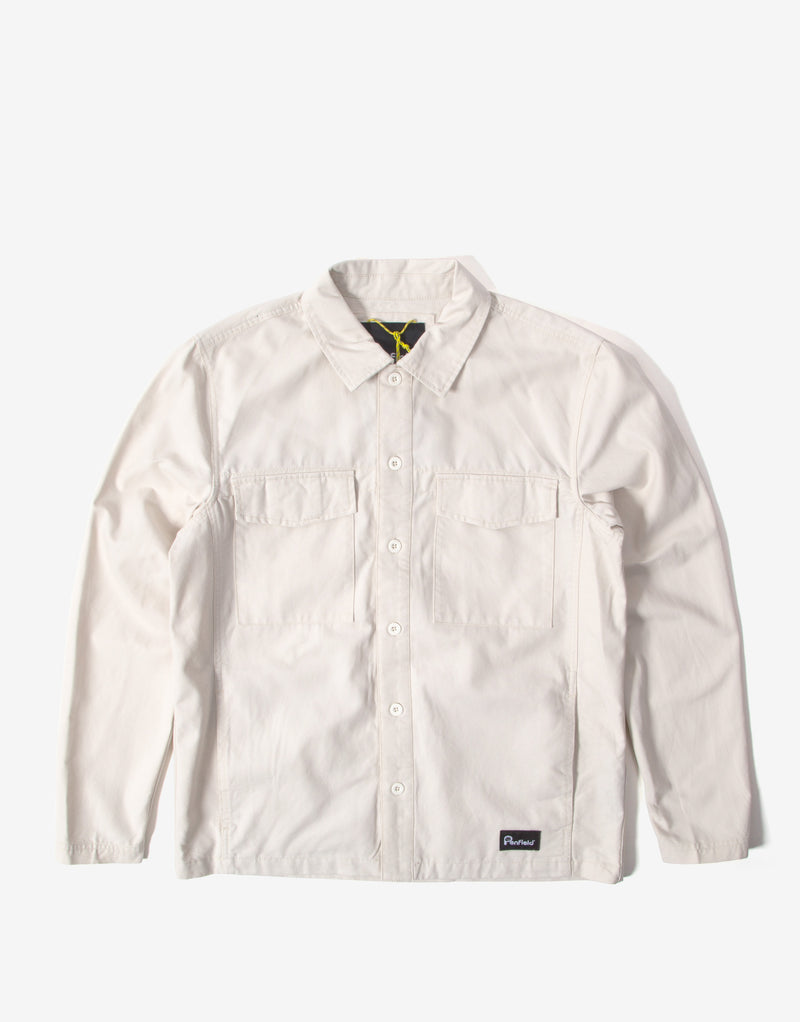 Penfield Napier Overshirt - White Sand