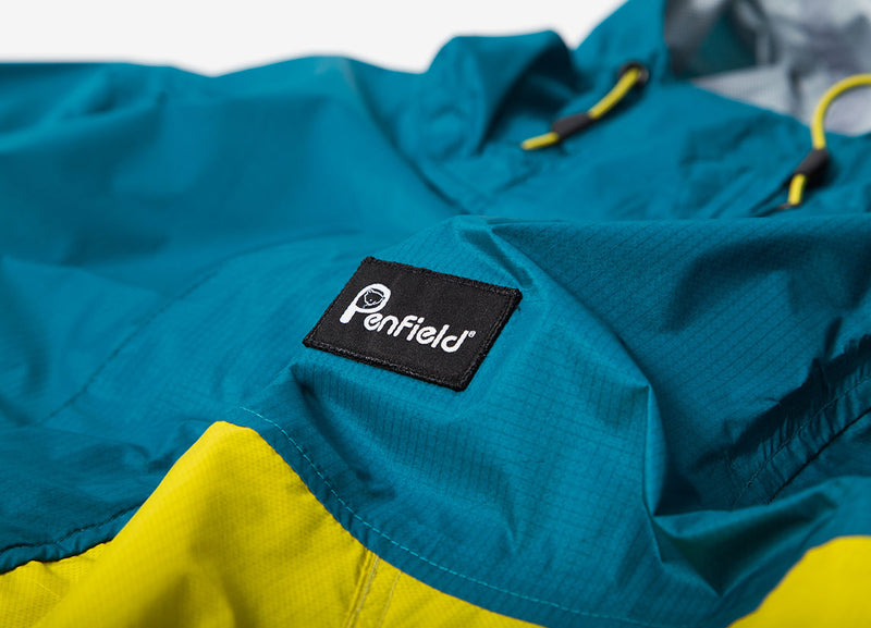 Penfield Rifton Jacket - Teal/Citrus