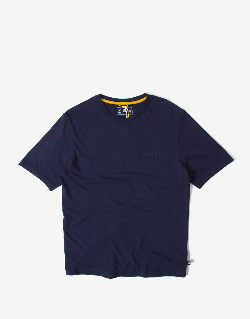Penfield Wallpole T Shirt - Navy