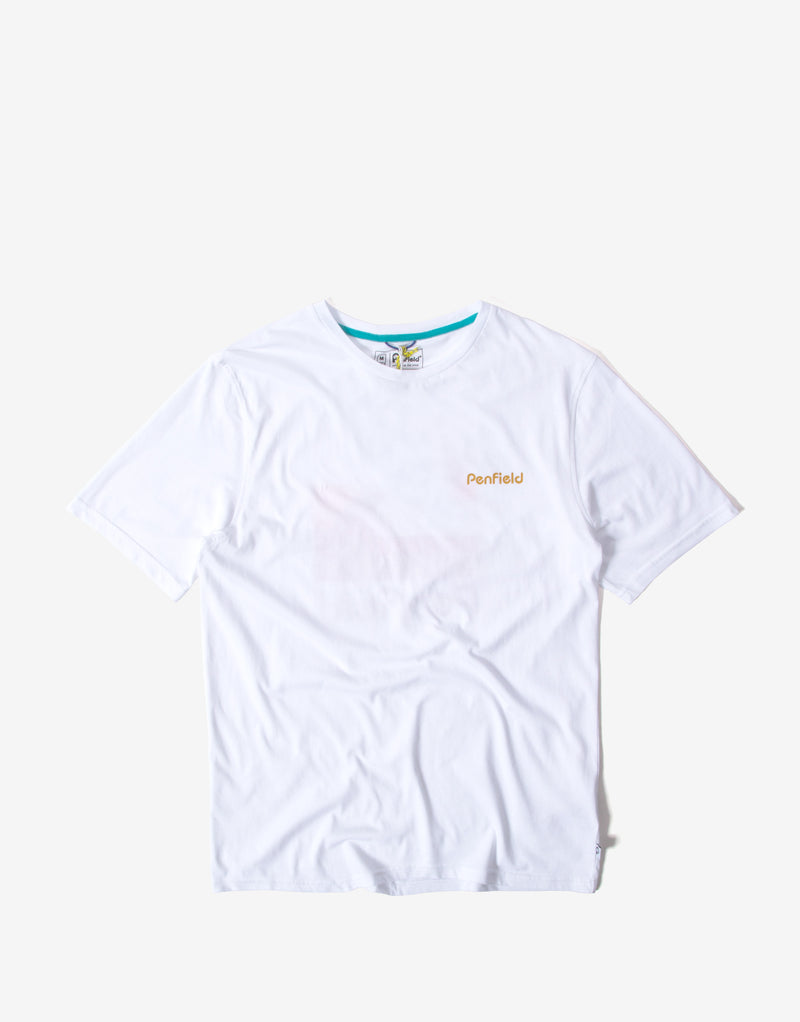 Penfield Wallpole T Shirt - White