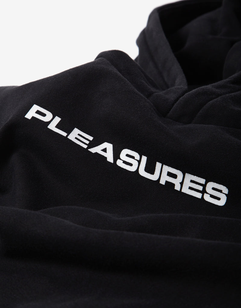 Pleasures Burnout Dyed Hoody - Black