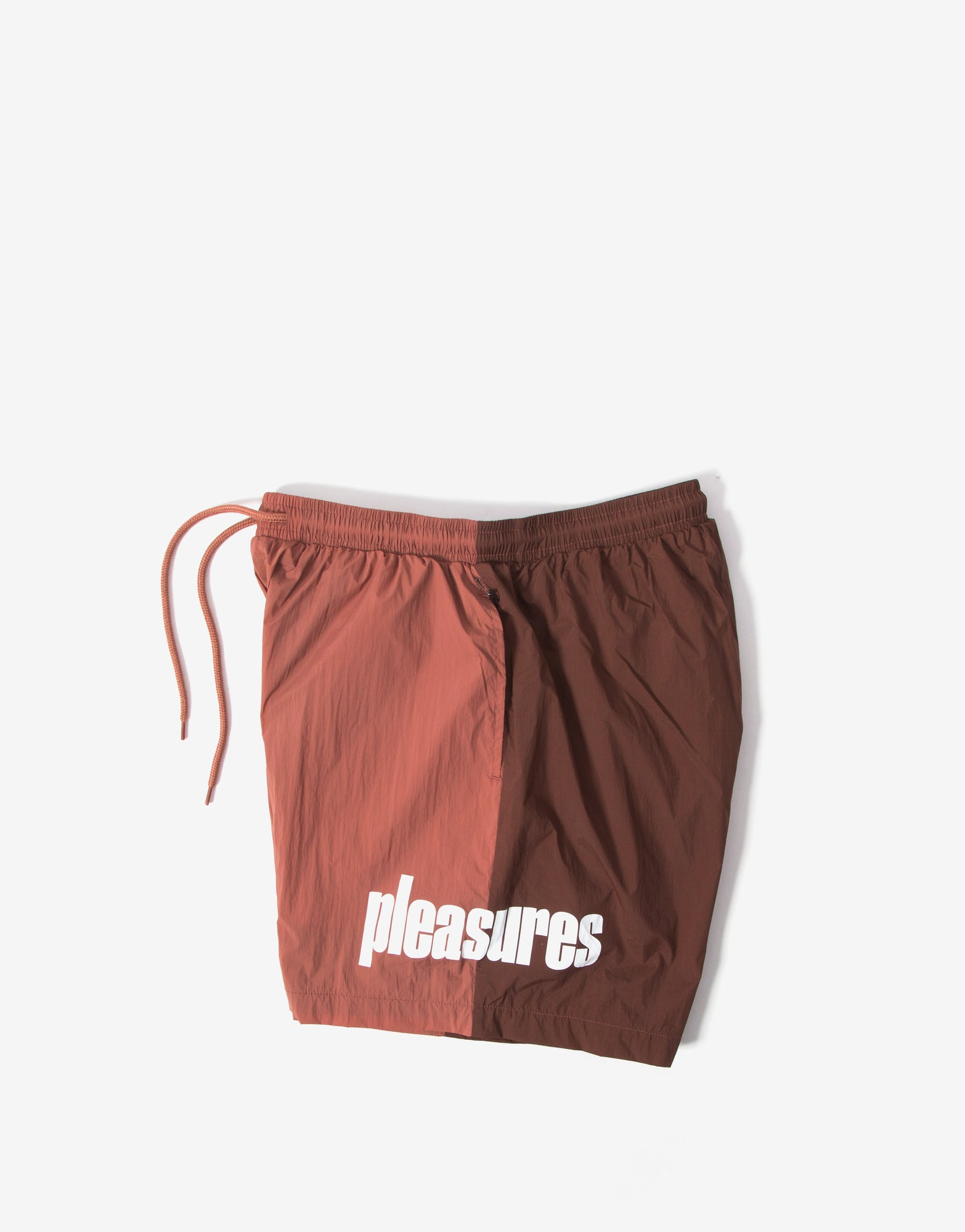 Pleasures Electric Active Shorts - Maroon