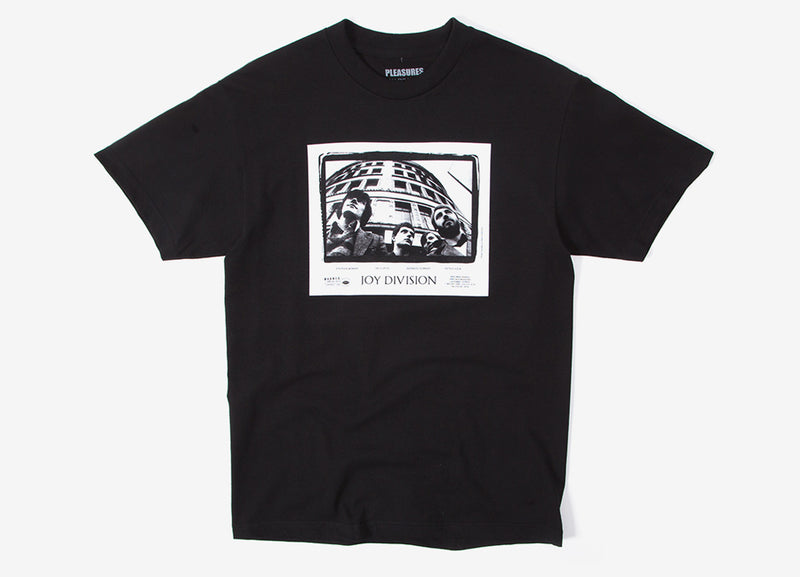 Pleasures x Joy Division Band T Shirt - Black
