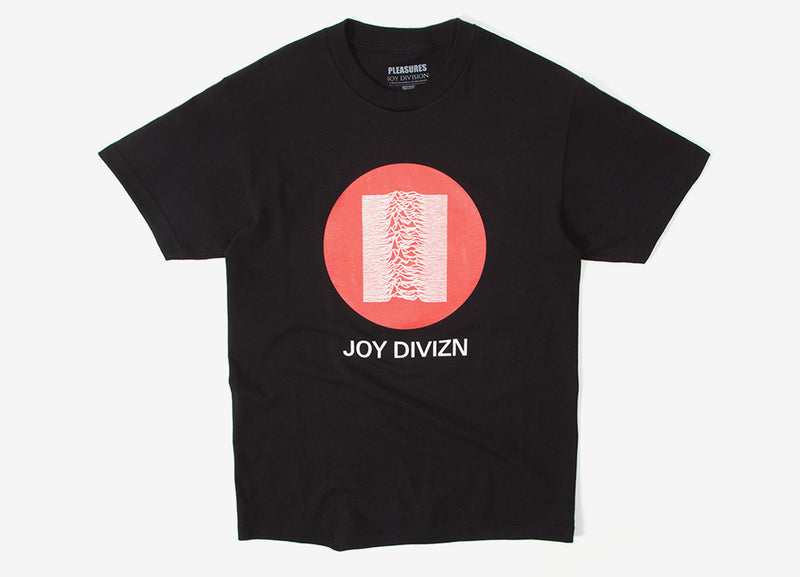 Pleasures x Joy Division Global T Shirt - Black