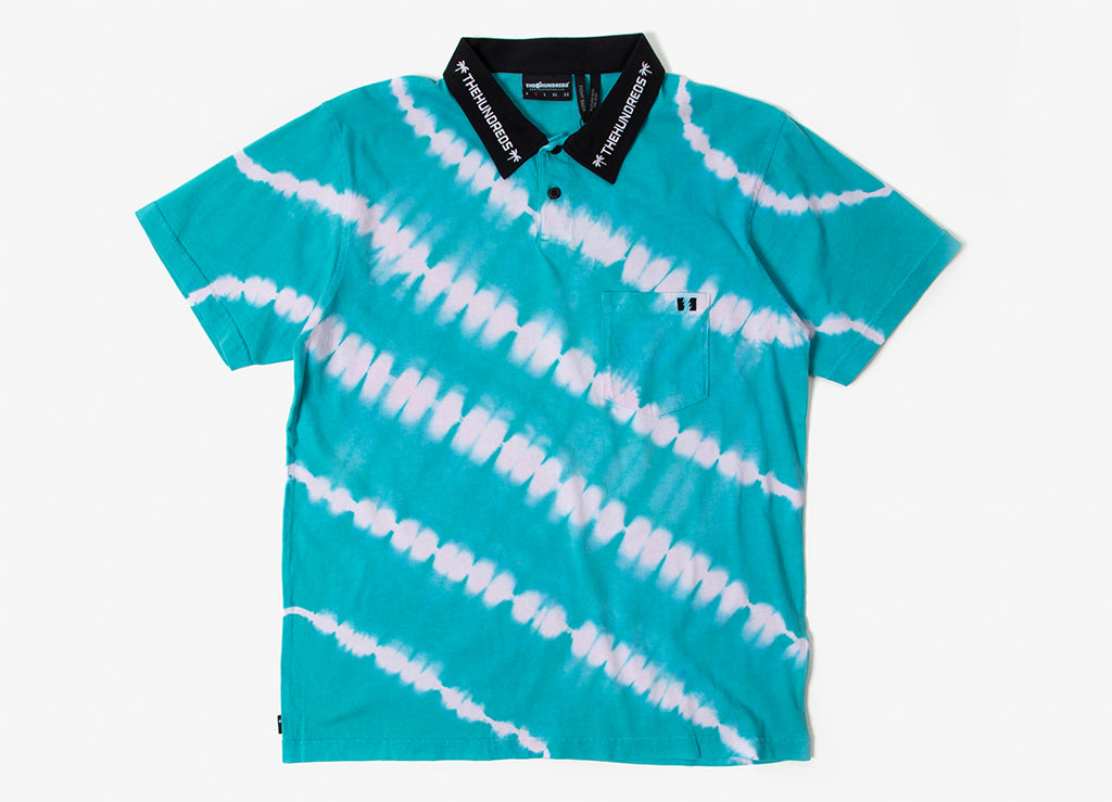 The Hundreds Cirrus Polo Shirt - Patrol Blue