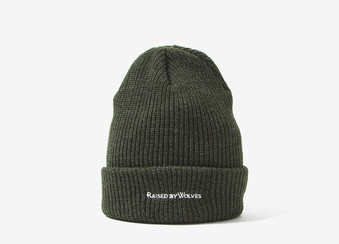 Raised By Wolves Ranger Watchcap Beanie - Olive