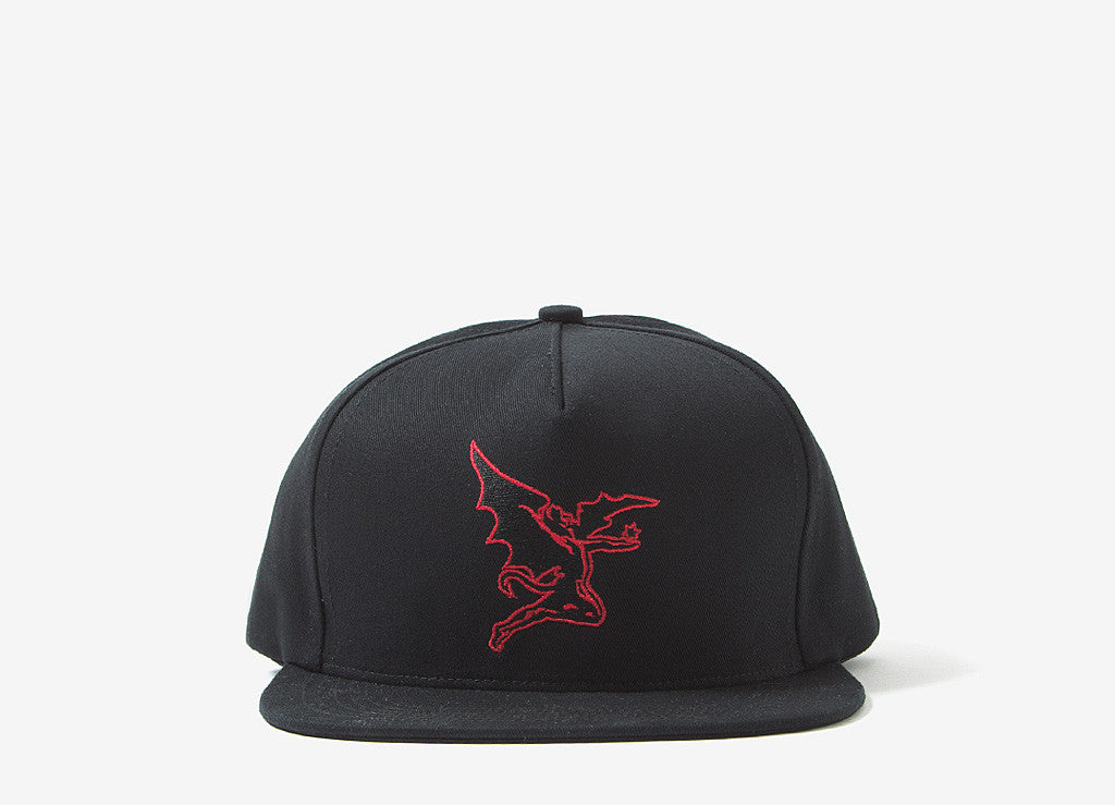 Raised By Wolves x Black Sabbath Creature Strapback Cap - Black