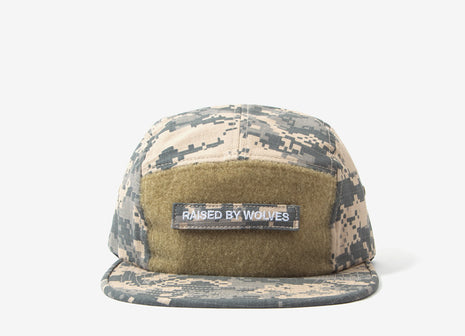 Raised By Wolves Juno Camp Cap - Acu/Grey