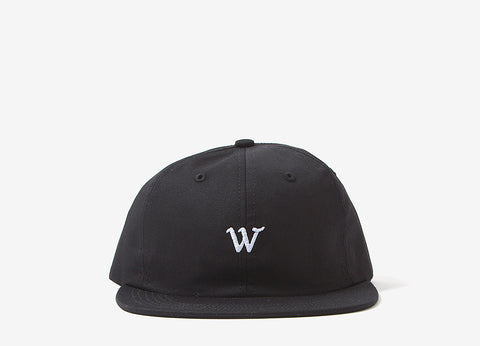 Raised By Wolves Cooper Panel Cap - Black