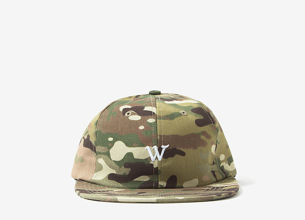 Raised By Wolves Cooper Panel Cap - Quad Camo