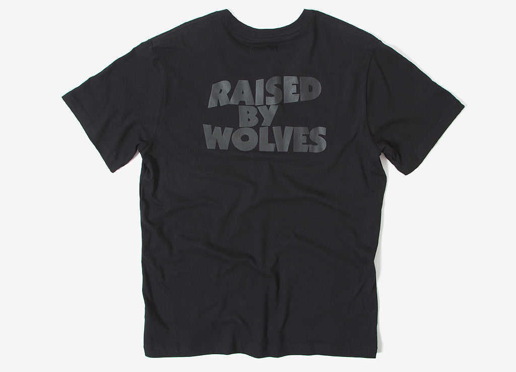 Raised By Wolves x Black Sabbath Masters Of Reality T Shirt - Black