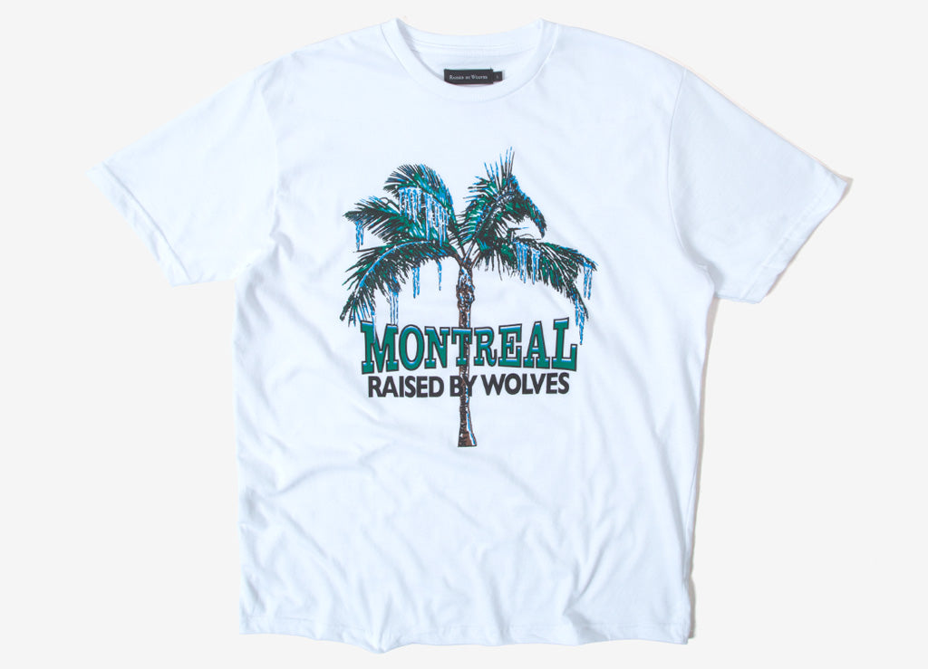 Raised By Wolves Vacation T Shirt - White