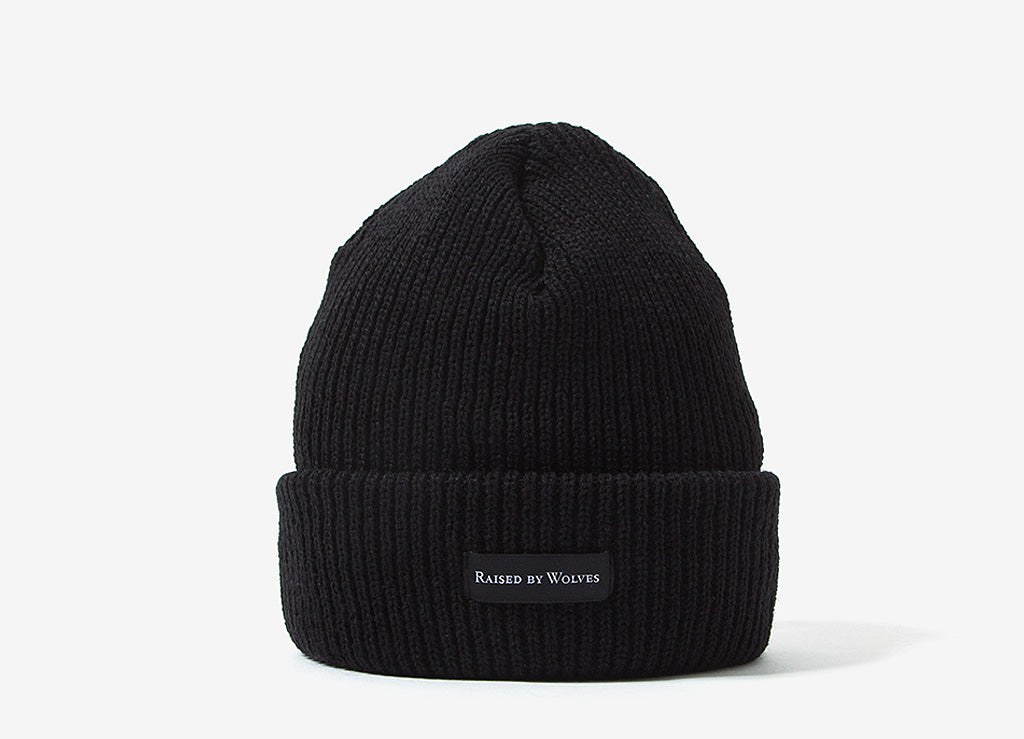Raised By Wolves Moraine Watch Cap Beanie - Black