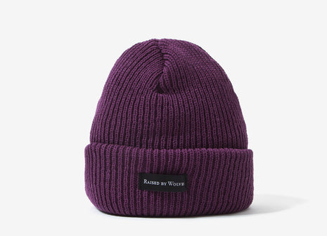 Raised By Wolves Moraine Watch Cap Beanie - Purple