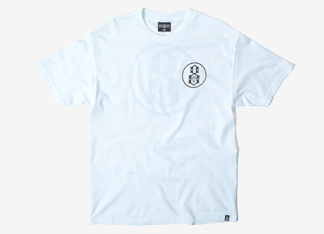 Rebel8 Reflective T Shirt - White