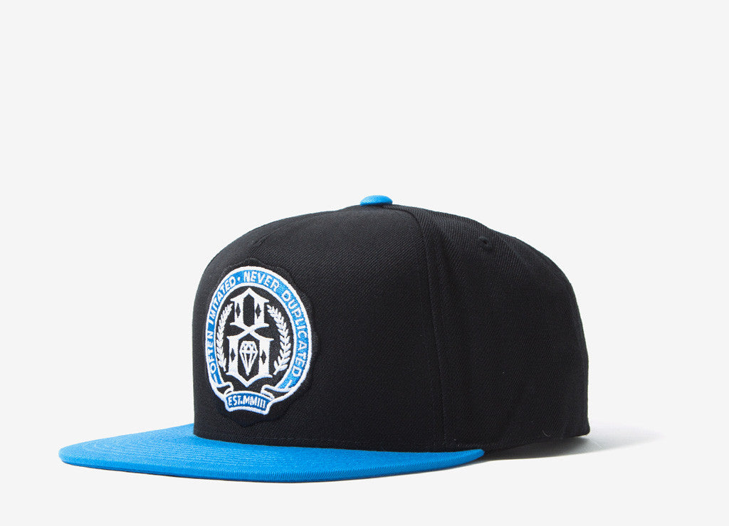 Rebel8 U Of 8 Snapback Cap - Blue