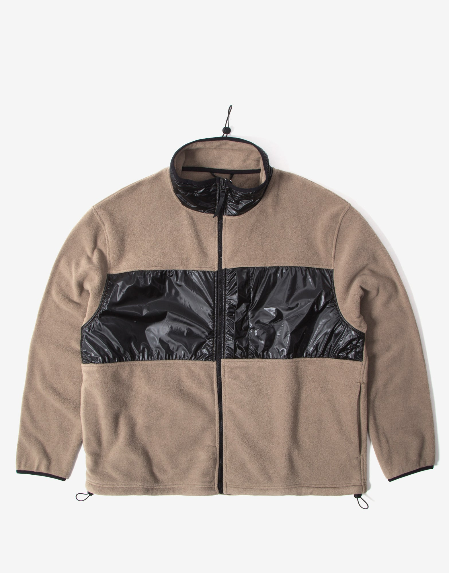 Rains Fleece Jacket - Taupe