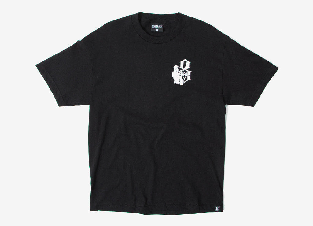 Rebel8 Hit The Walls T Shirt - Black
