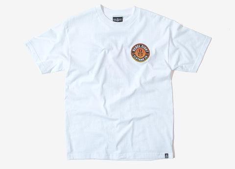 Rebel8 Sunburnt T Shirt - White