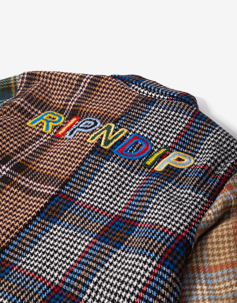 Rip N Dip ROYGBIV Multi Plaid Jacket - Multi