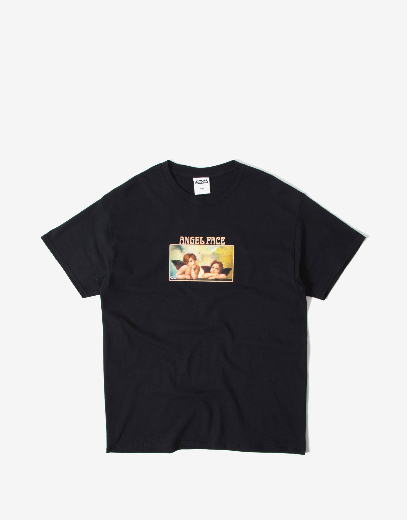 SCUM Angel Face T Shirt - Black