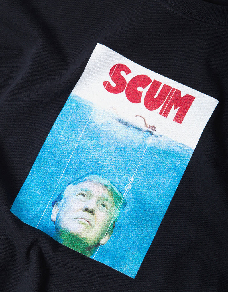 SCUM Trump T Shirt - Black