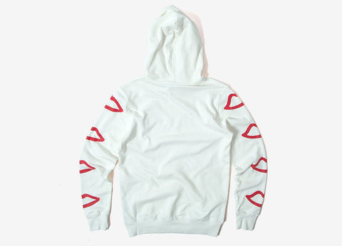 Sex Skateboards Mini Logo Pullover Hoody - White