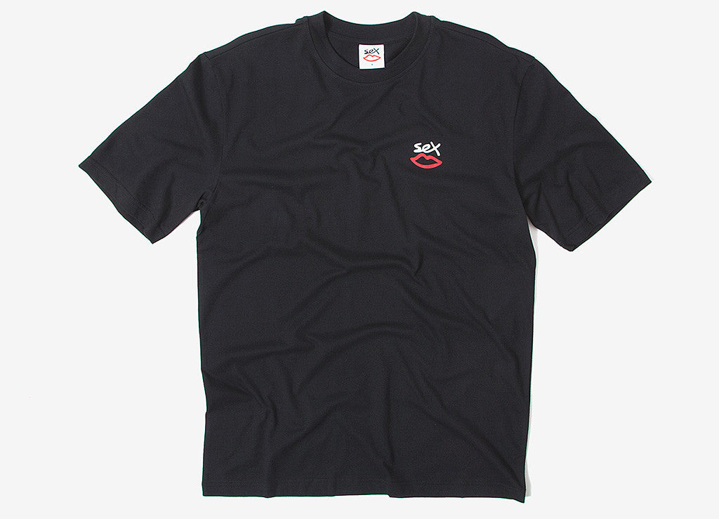 Sex Skateboards Mini Logo T Shirt - Black