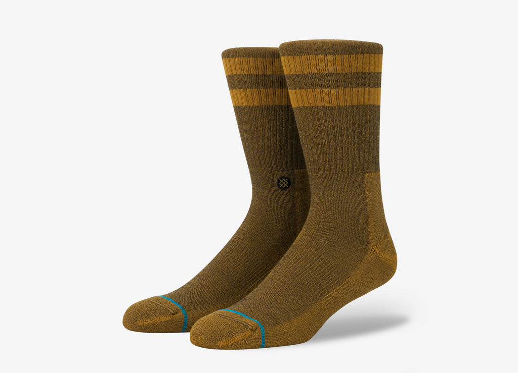 Stance Uncommon Solids Joven Socks - Amber