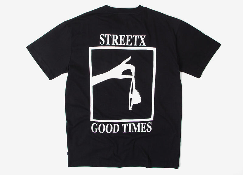 StreetX Good Times T Shirt - Black