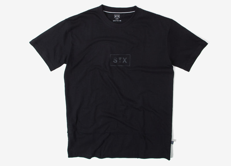 StreetX Tonal Box T Shirt - Black