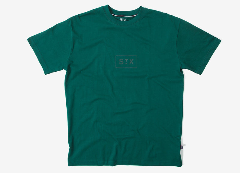StreetX Tonal Box T Shirt - Forest
