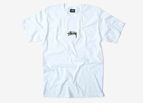 Stussy HD Stock T Shirt - White