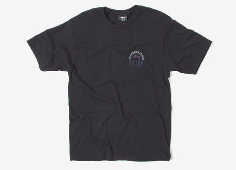Stussy IST Stamp T Shirt - Black