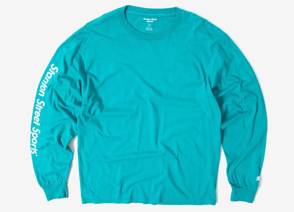 Stanton Street Sports Motion L/S T Shirt - Jade