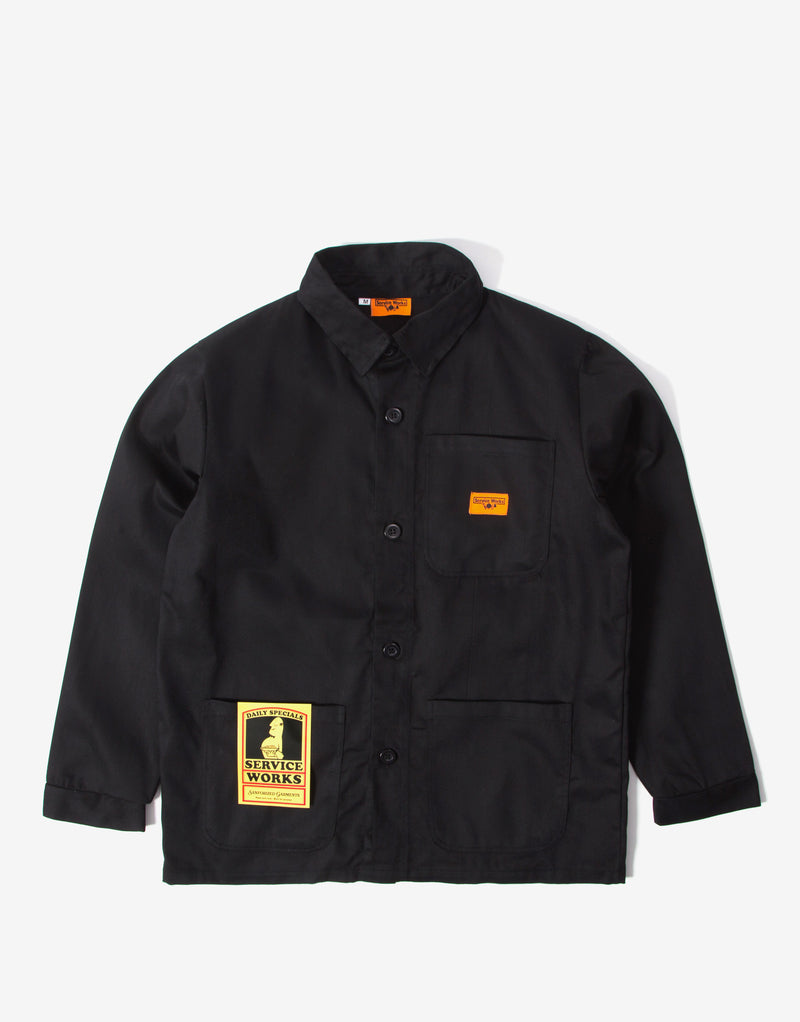 Service Works Backers Work Jacket - Black