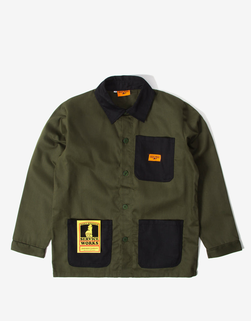 Service Works Backers Work Jacket - Woodland