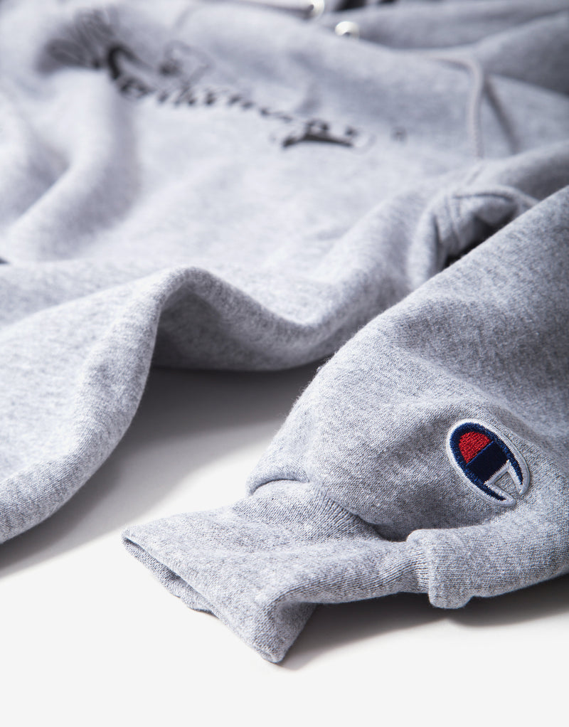 Service Works Chase Hoodie - Heather Grey