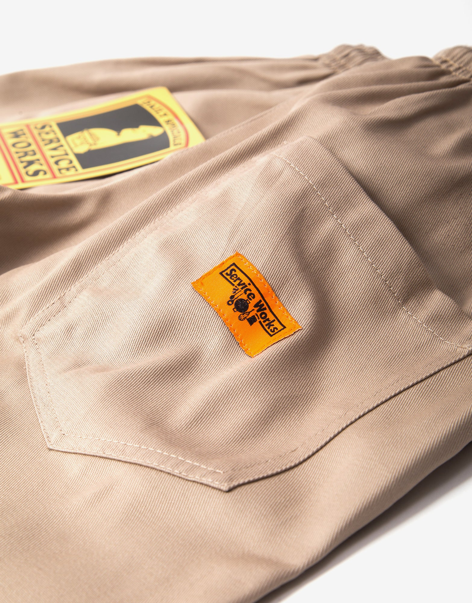 Service Works Classic Chef Pant - Tan