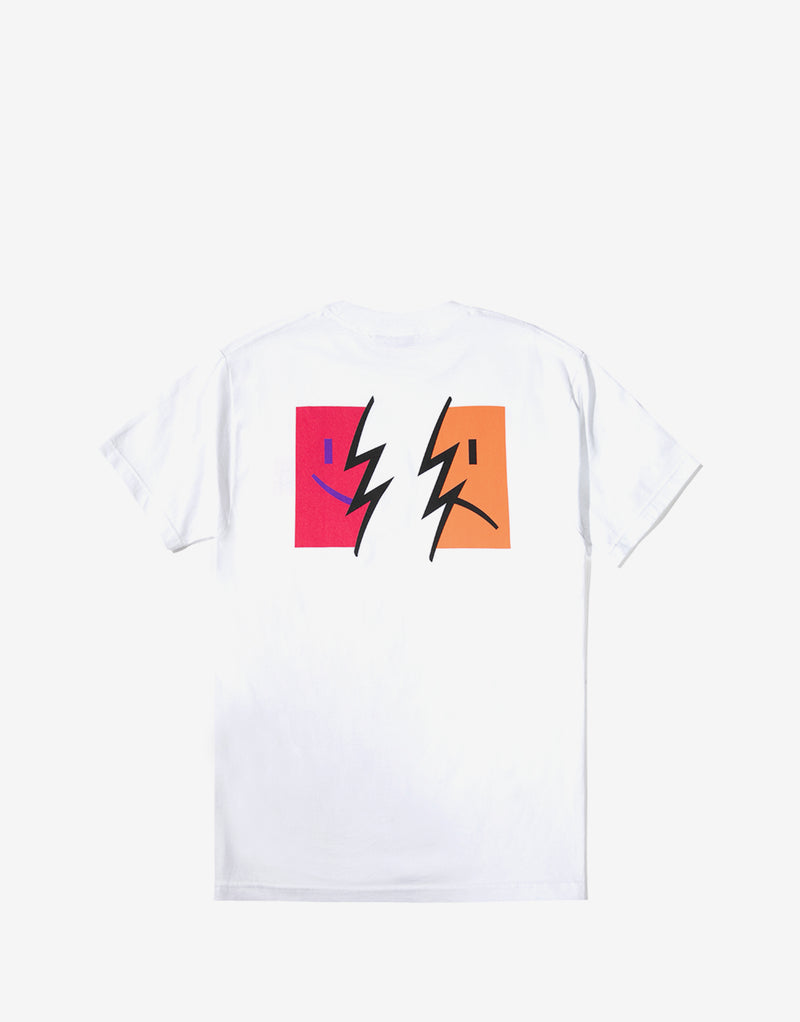 The Hundreds Symptoms T Shirt - White