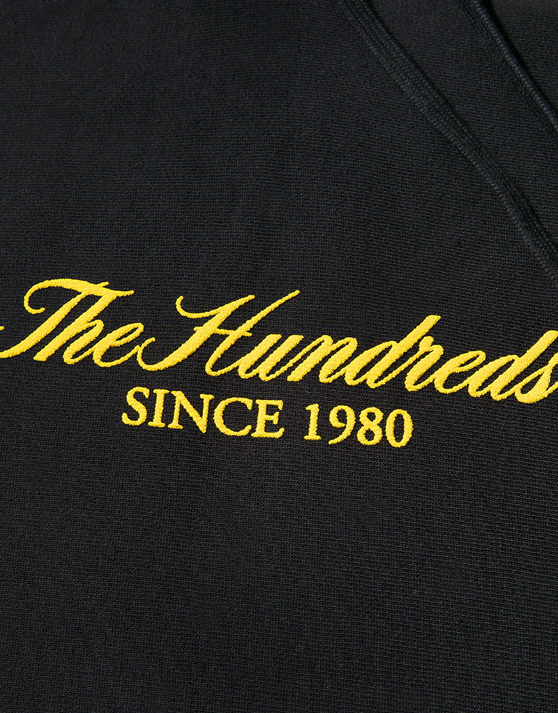 The Hundreds Rich Puff Pullover Hoody - Black