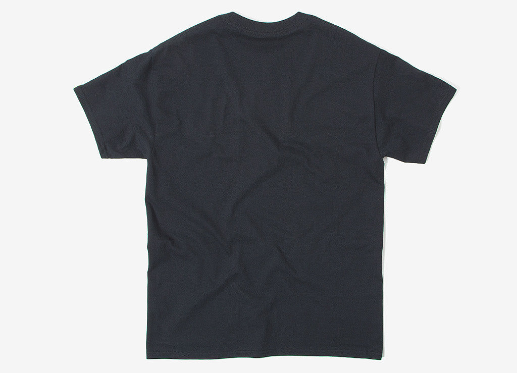 Chimp Micro Script T Shirt - Black