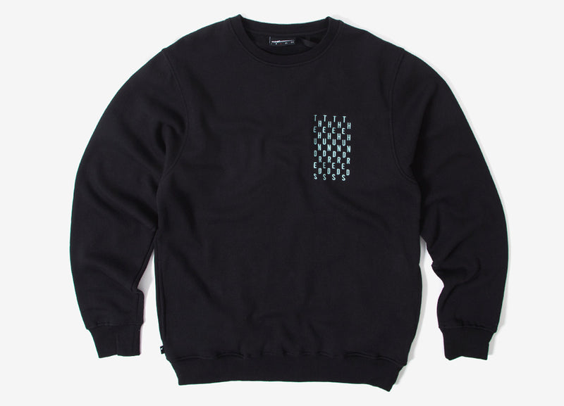 The Hundreds Bartlett Crewneck Sweatshirt  - Black