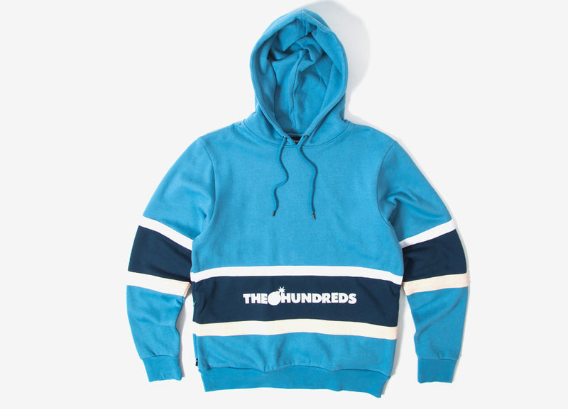 The Hundreds Briggs Pullover Hoody - Light Blue