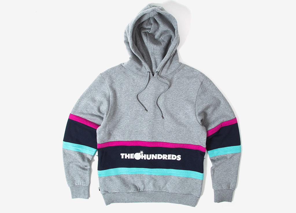 The Hundreds Briggs Pullover Hoody - Athletic Heather