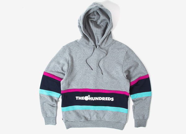 The Hundreds Briggs Pullover Hoody Athletic Heather